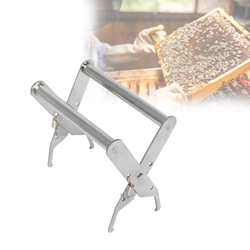 Bee Hive Frame Holder Stainless Steel Capture Frame Grip Beekeeping Accessories Increase Honey Bee Tools