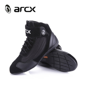 Image 2 - ARCX Motorcycle Boots Men Moto Riding Boots Summer Breathable Motorcycle Shoes Motorbike Chopper Cruiser Touring Ankle Shoes #