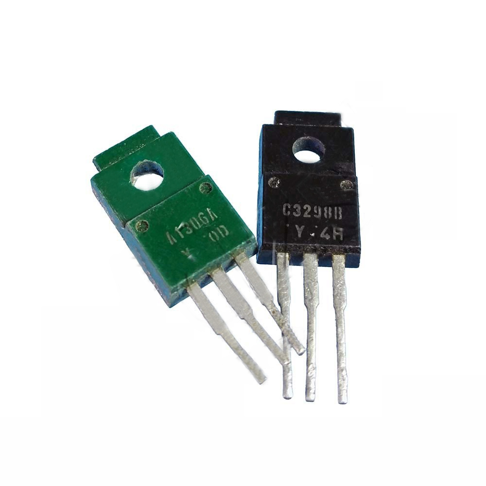 10pcs A1306 C3298( 5pcs 2SA1306 + 5pcs 2SC3298) TO-220F