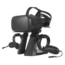 2019 New Russia VR Headset Rack Display Holder Stand for Oculus Rift S/Oculus Quest VR Headset and Touch Controllers vr display station holder storage stand for oculus rift headset controller vr virtual reality system