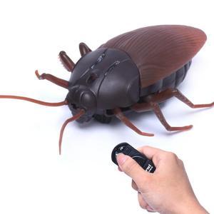 Забавные гаджеты симуляция Инфракрасный Радиоуправляемый пульт дистанционного управления страшное жуткое насекомое таракан страшные дет...