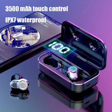 YEINDBOO Bluetooth 5.0 Headphones Super Bass Wireless with 3500mAh charging box HIFI Sound Earphones Handsfree Earbud