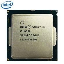 Intel i5 6500 İşlemci 3.2GHz 65W 6MB önbellek dört çekirdekli soket LGA 1151 dört çekirdekli masaüstü i5-6500 CPU test 100% çalışma