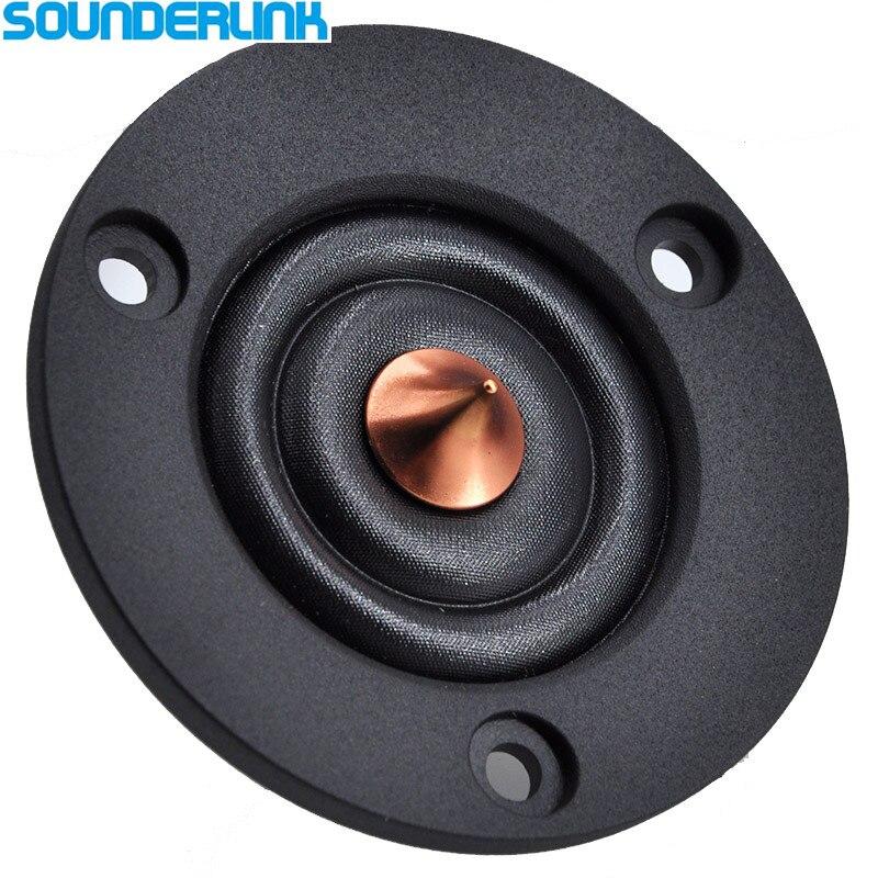 2 шт. Sounderlink HiFi Шелковый мягкий купольный динамик драйвер блок твитер Сделай Сам книжный диван автомобиль 2 дюйма 65 мм 4Ohm 30 Вт|Аксессуары для аудиосистем|   | АлиЭкспресс