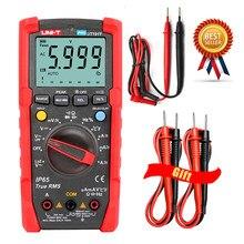 UNI-T ut191t ut191e tester multímetro digital profesional verdadeiro rms escala automática dmm 20a amperímetro 600v contar 6000 dc ac capacitor.