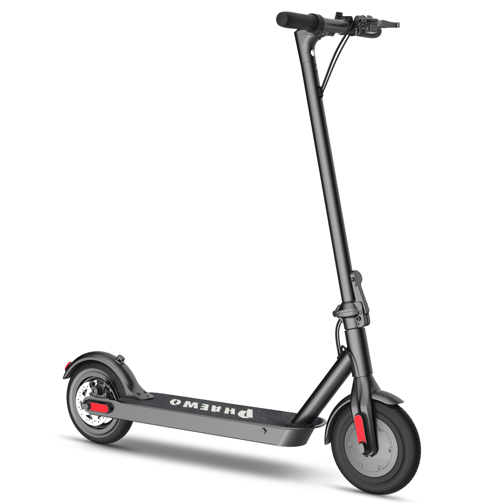8.5IN Electric Scooter Foldable Commuting Scooter 264LB Loading 250W Motor Commuter For Adults Electric Scooter Aluminum Alloy