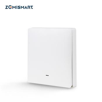 Zemimart Tuya Zigbee interrupteur sans fil batterie mur télécommande avec bouton-poussoir vie...