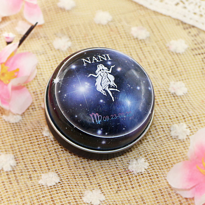 Newly NANI 12  Zodiac Sign Compact Scented Body Balm Skin Care Cream Flower Perfume Essential CTN88