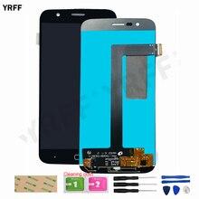 Yeni cep LCD ekran Vernee Thor için Ver.01 Ver.02 Ver.03 LCD dokunmatik cam sayısallaştırıcı araçları 3M tutkal
