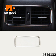 Trim-Cover Sticker Air-Conditioner Honda Crv Ac Vent Auto for Cr-V Outlet Stainless-Steel