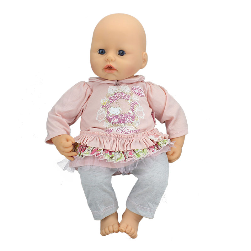 New Dolls Jumpsuit Wear For 46cm Baby Annabell Doll 18 Inch Dolls Clothes