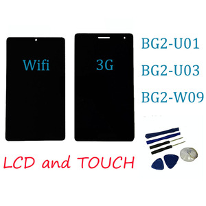Original LCD with touch screen 7inch for Huawei Mediapad T3 7.0 3g or wifi BG2-W09 BG2-U01 BG2-U03 Display(China)