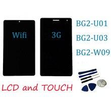 Pantalla LCD Original con pantalla táctil, 7 pulgadas, para Huawei Mediapad T3 7,0, 3g o wifi, BG2 W09, BG2 U01