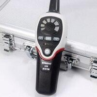 Refrigerant Halogen Leak Detector Air Conditioning Refrigerant Leak Tester R 134a R410a R407a R22 RLD 382P detection machine