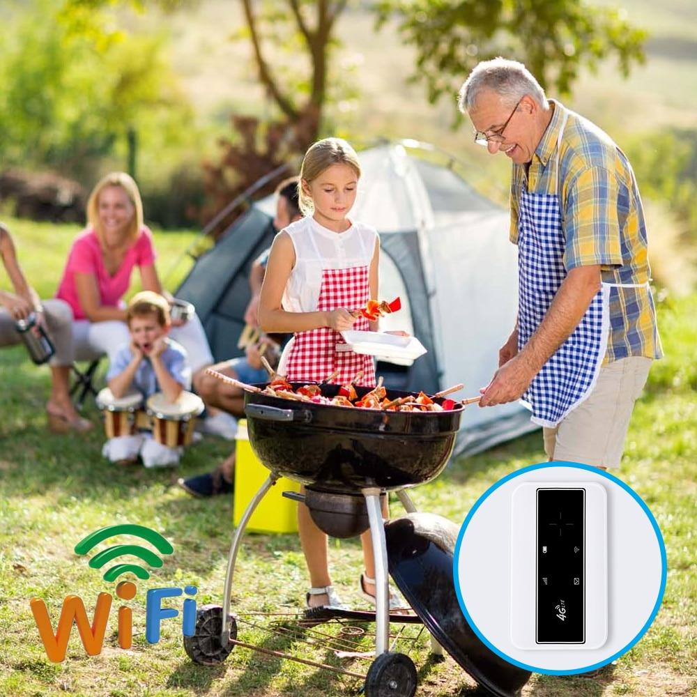 KuWFI Mini 4G Router 3G/4G LTE Wireless Wifi Modem Portable Pocket Wi-fi Mobile Hotspot Car Wi-fi Router With Sim Card Slot 6