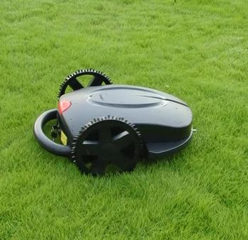 Hot Sale Robot Lawn Mower With Rain Cover Black Robotic Lawn Mower With Good Quality Free Shipping цена 2017