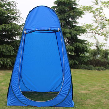 Spacious Tent Shelter Portable Privacy Shower Toilet Camping Jumper Tent UV Protection Outdoor Dressing Tent Room