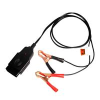 Obd mudando ferramentas elétricas da bateria substituir detector de vazamento de bateria veículo ecu fonte de alimentação de emergência cabo de poupança de memória