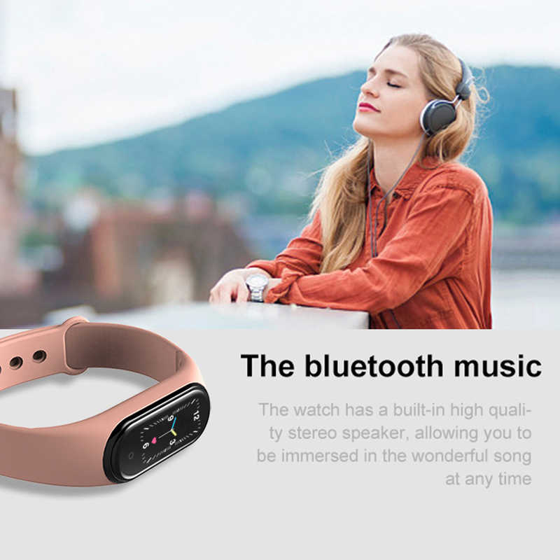 New M5 Smart Band Fitness Tracker Smart Watch Sport Smart Bracelet Heart Rate Blood Pressure Smartband Monitor Health Wristband