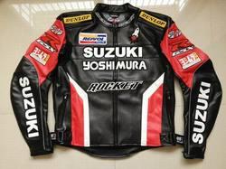 Heißer Männer Wasserdicht Winddicht Motorrad Racing Jacken für SUZUKI PU Leder Motocross Reiten Jacke