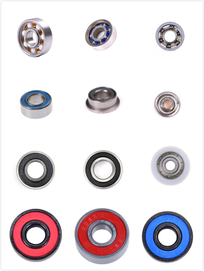 1/5/10pcs 608 2RS Ball Bearing ABEC-5 Deep Groove Steel Sealed Ball Bearings MR84RS MR63ZZ Bearing image