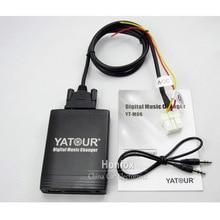 Yatour yt m06 usb MP3 auxアダプタ日産インフィニティFX35 G35 M45 アルメーラムラーノプリメーラパスファインダー車のデジタル音楽チェンジャー