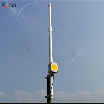 Faixa Larga Ativa Do Laço De Tzt K-180WLA 0.1 M-180 Mhz Com O Jogo Receptor Da Antena Para O Rádio De Sdr