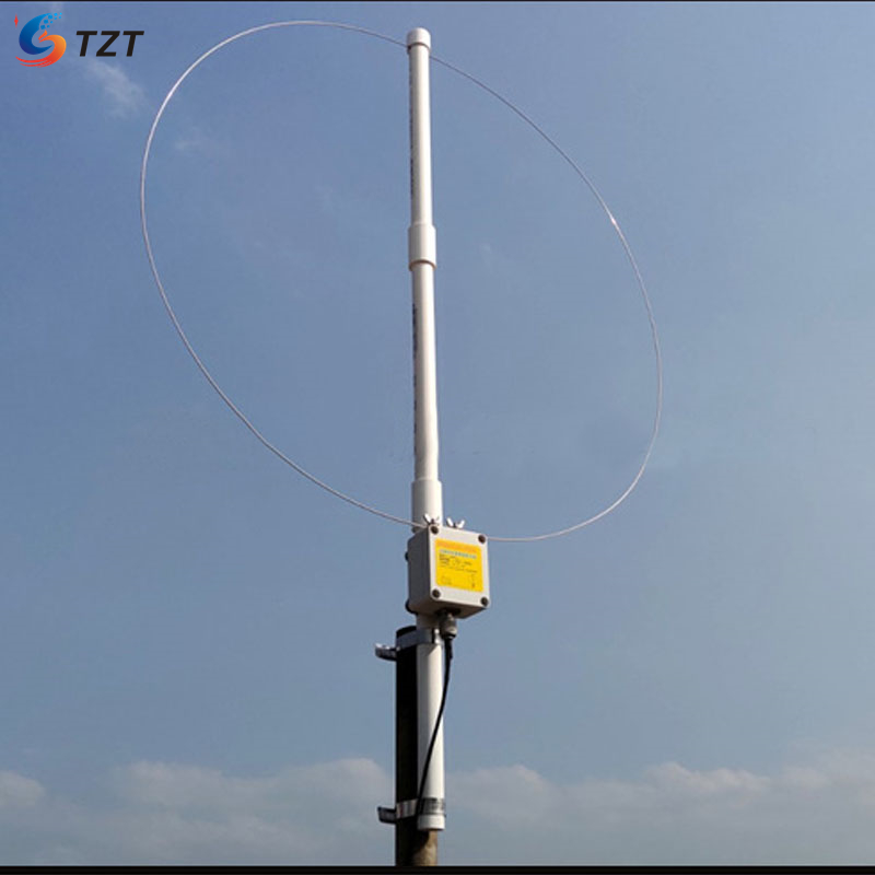 TZT K-180WLA 0 1M-180MHz Active Loop Broadband with Receiving Antenna Kit For SDR Radio