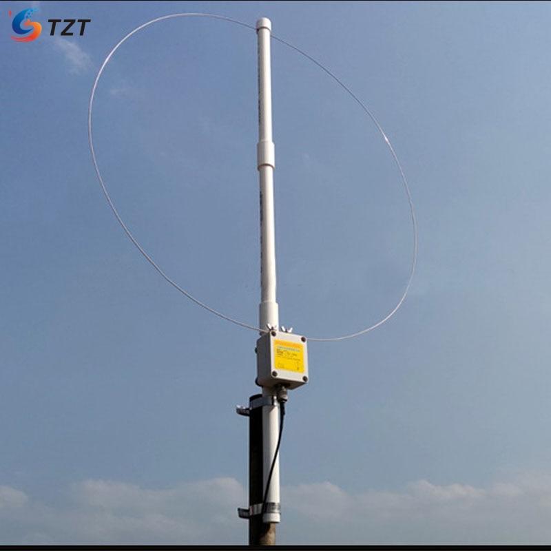 TZT K-180WLA 0,1 M-180MHz активная петля широкополосная с приемной антенной комплект для SDR радио