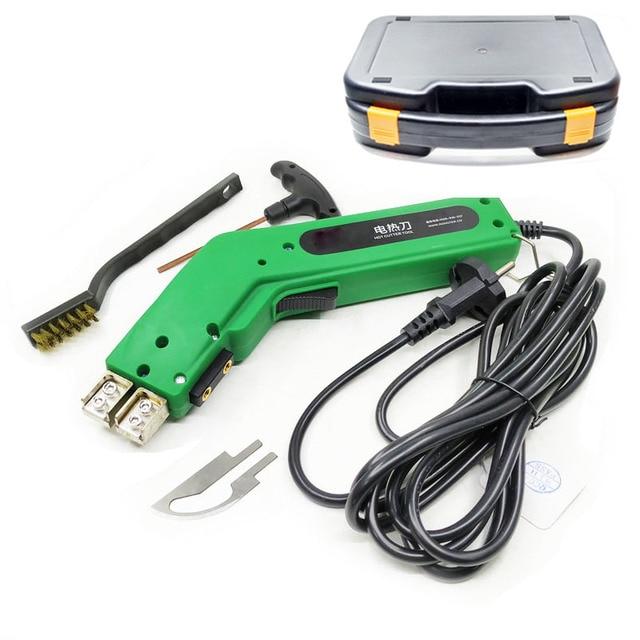 Cortador de cuchillos de alta calidad, herramienta de corte eléctrico de cuerda de tela, 100W