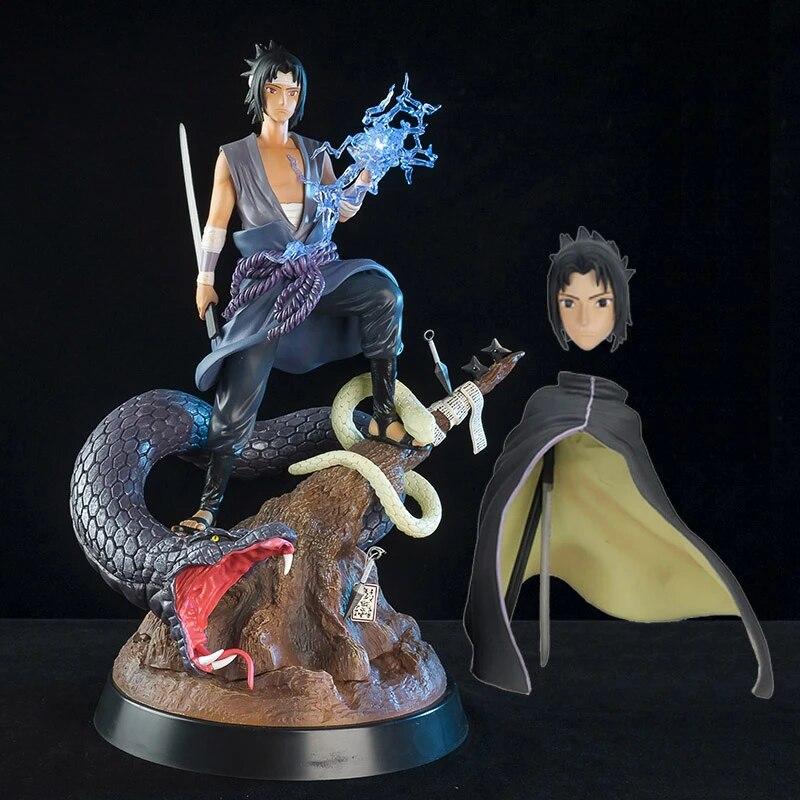 Good Pvc Snake Cloak Gk Uchiha Sasuke Action Figure Anime Figurin Patung Model Mewah Mainan Koleksi Hadiah Mewah 32cm Aksi Figur Aliexpress