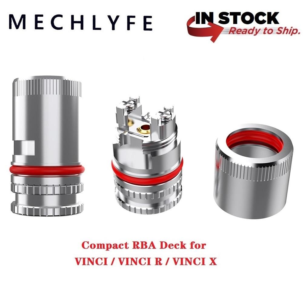 Original MECHLYFE Compact RBA Deck For VINCI /VINCI R/ VINCI X Kit Electronic Cigarettes Thread Vape Accessory Vinci Mod Pod Kit