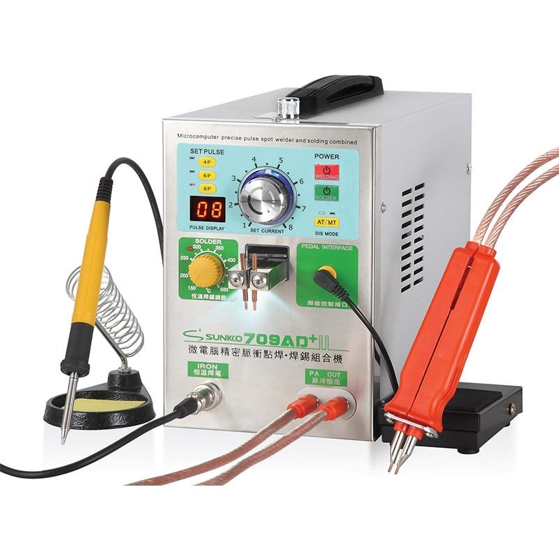 709AD+ 18650 Lithium Battery Spot Welder Induction Automatic High Power Spot Welding Machine 3.2KW Spot Welder Battery Welders