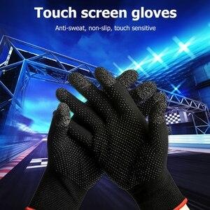 Image 5 - 2pcs יד כיסוי משחק בקר עבור PUBG זיעה משחקים אצבע אגודל שרוול כפפה