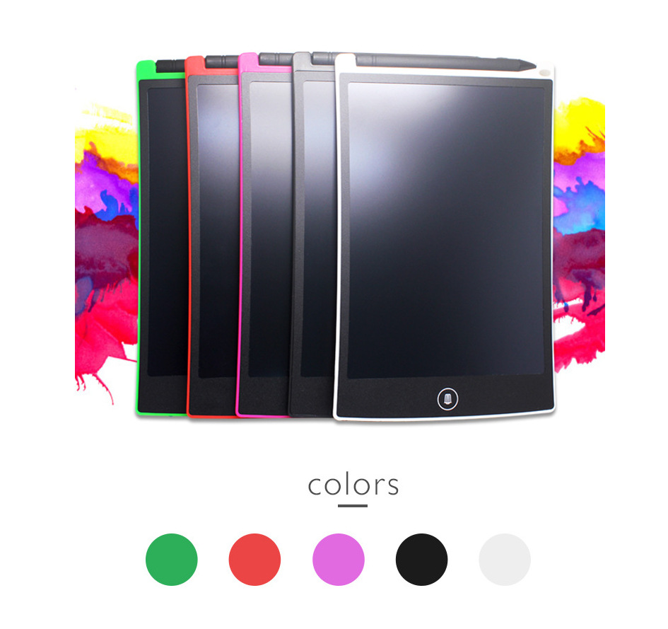 Short 8.5-Inch LCD Tablet Children Electronic Drawing Board Electronic Writing Pad Smart Writing Board