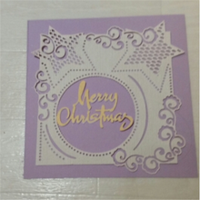 Eastshape Christmas Star Frame Dies Metal Cutting New 2019 for Scrapbooking Card Making Cover Background Craft Die Cuts