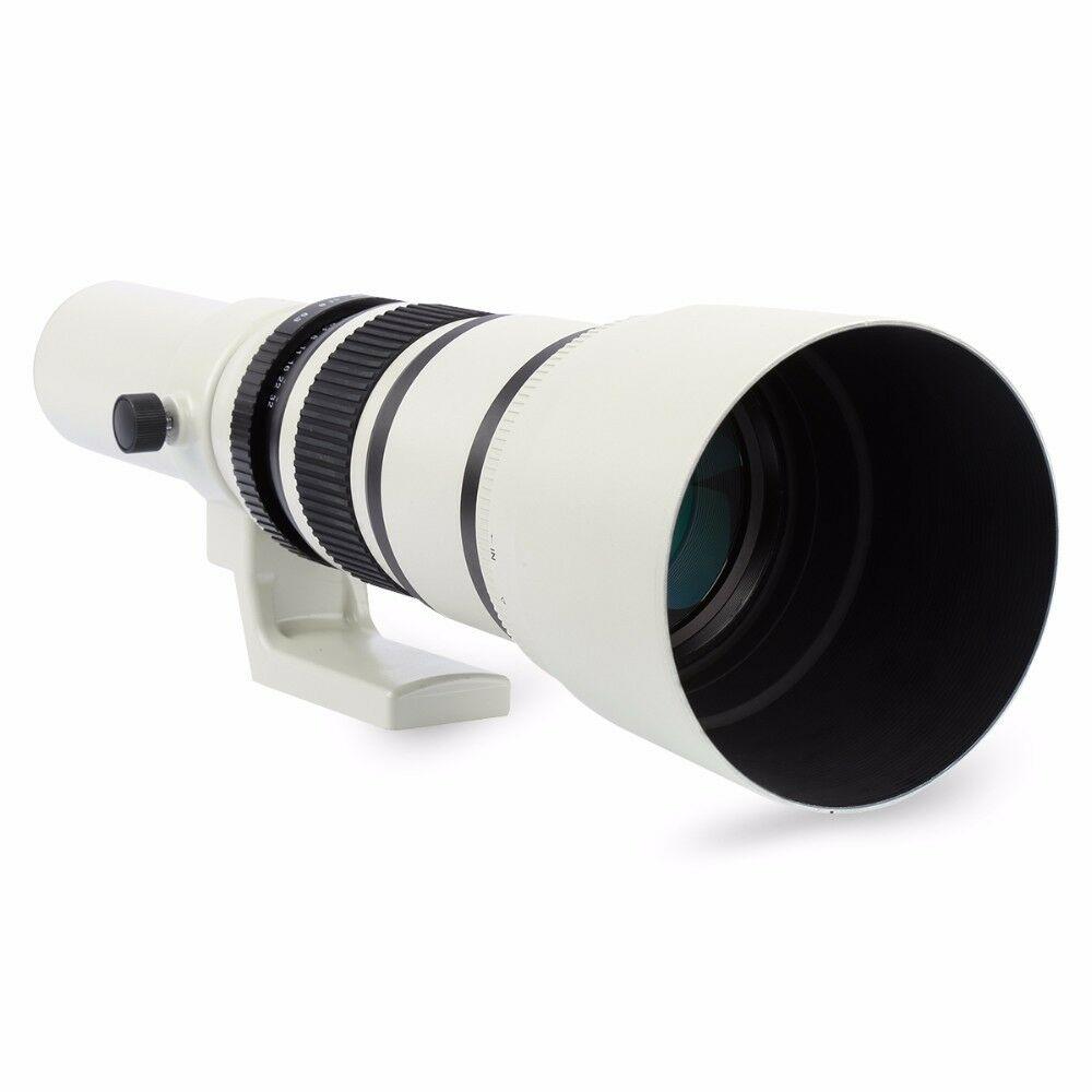 Jintu 500 мм 63 телеобъектив для цифровой однообъективной зеркальной