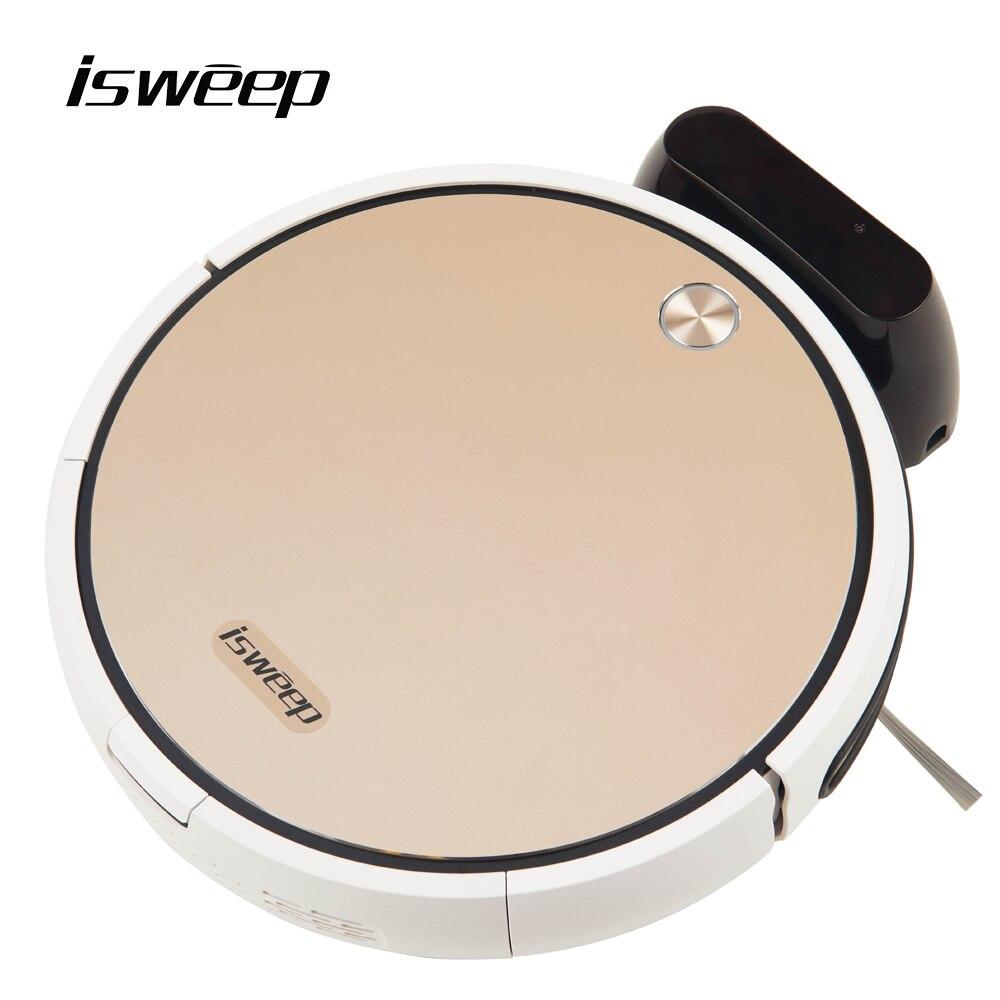 Isweep x3 robô aspirador de pó controle app 1800 pa molhado e seco casa varredor automático recarga plug ue versão inglês presente 2 escova
