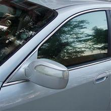 цена на 10MM x 15M Window Chrome Styling Moulding Trim Strip Self Adhesive Meter Car Window Strips Chrome-plated Strips