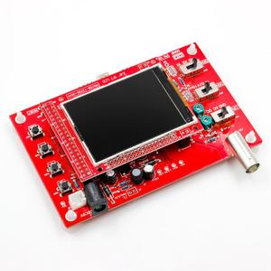 """Image 3 - Full Montiert DSO138 2,4 """"TFT Tasche größe Digitale Oszilloskop Kit DIY Teile Handheld + alte version Abdeckung Shell"""