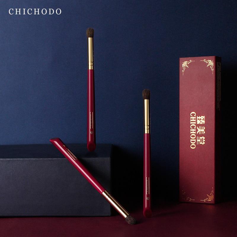 CHICHODO makeup brush-Luxurious Red Rose series-high quality gray rat&horse hair blending brush-cosmetic tool-natural hair make