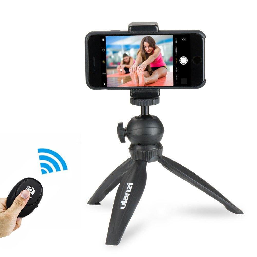 Ulanzi Smartphone Tripod w Phone Tripod Mount Clamp Kit Flexible Mini Tripod for iPhone X 8