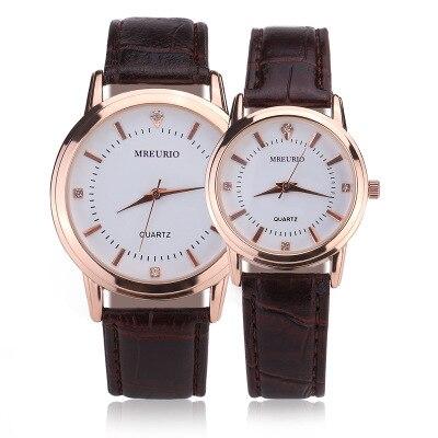 Fashion Couple Quartz Wristwatch Men & Women Best Gifts Leather Brand Luxury Business Watches