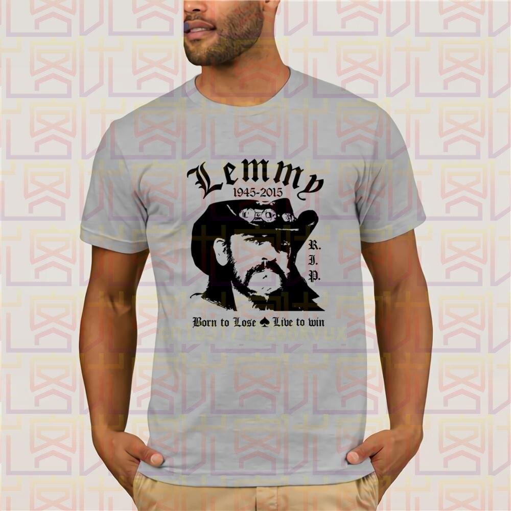 Lemmy t-shirt manches courtes homme en coton, Rock N Roll chemise en métal lourd, Rip Shirt S Bis 3xl, Fan Art 2019
