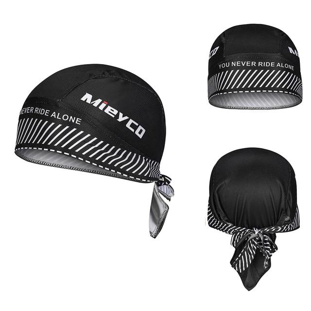 Mieyco Bicycle Cycling Headbands Sport Cyclist Cycling Cap For Men Head Bandana Female Bike Cap Men's Summer Running Headscarf 6