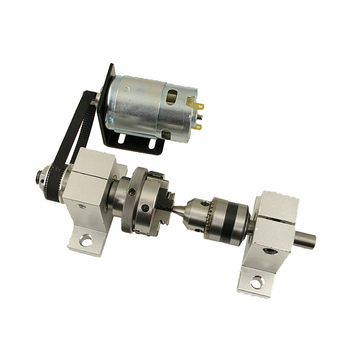 Chuck 65mm Tailstock center height 42mm DC motor 775 for DIY CNC Router Engraver Milling Machine cnc tailstock with chuck for rotary axis cnc milling machine tailstock center height 65mm