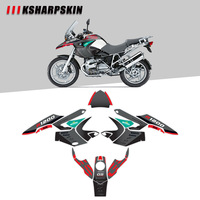 Body decoration protection sticker KSHARPSKIN motorcycle reflective decal for BMW R1200GS R1200 gs 2004 2007