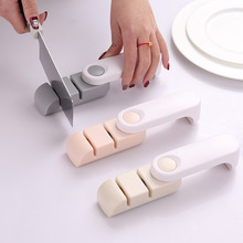 цена на Two-stage sharpening bar fast sharpener sharpening stone kitchen gadget household grinding knife sharpener