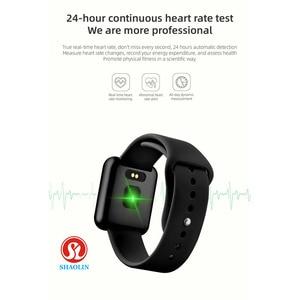 Image 4 - Su geçirmez akıllı İzle Bluetooth Smartwatch Apple IPhone Android izle kalp hızı monitörü spor izci adam kadın
