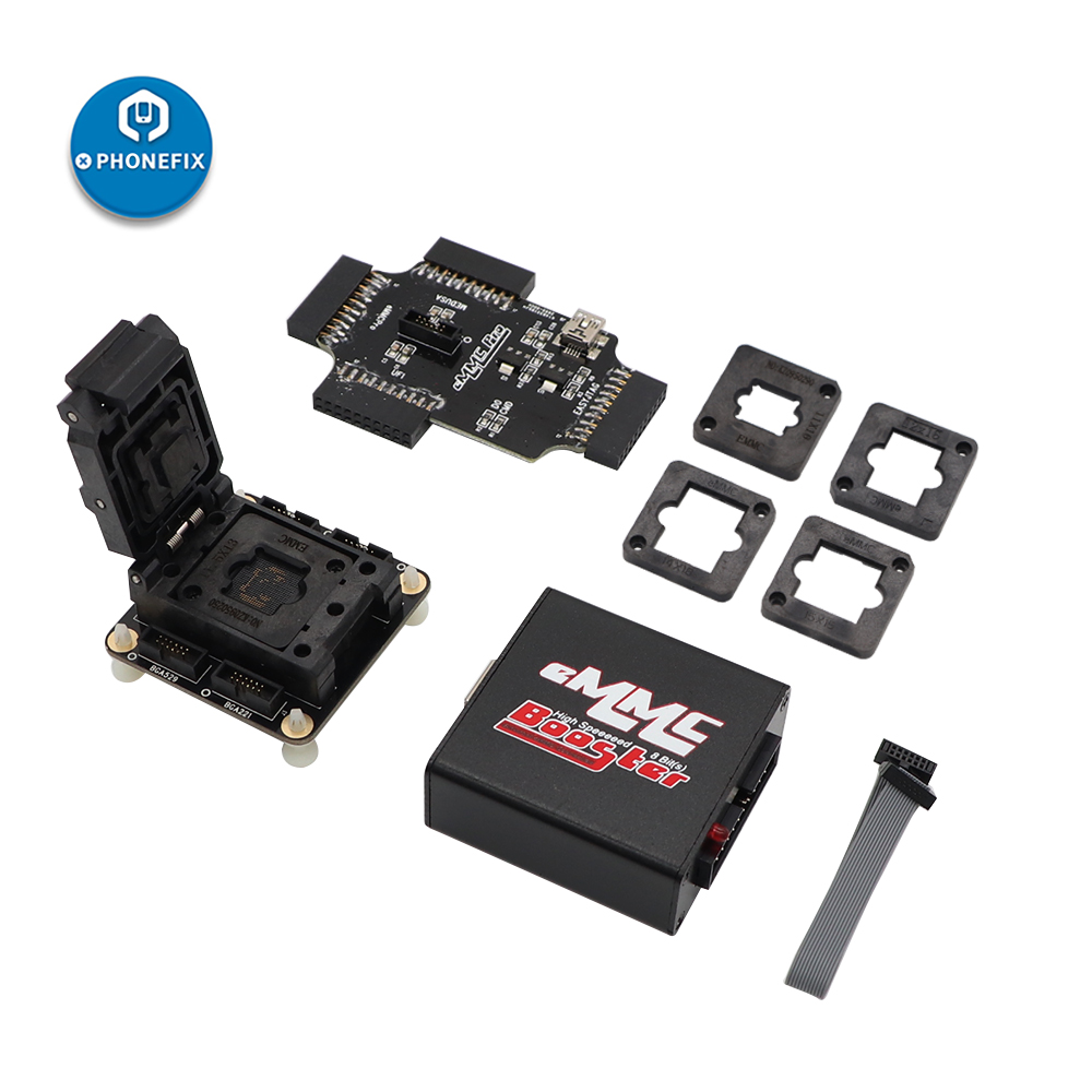 All-in-One EMMC <font><b>Socket</b></font> for EMMC Pro Medusa PRO Easy JTAG UFi Box Support BGA153 BGA162 <font><b>BGA169</b></font> BGA186 BGA221 BGA529 EMMC IC image